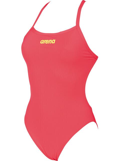 arena Solid Light Tech High Svømmedragt Damer rød